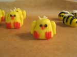 Marzipan chicks