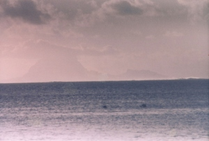 Bora Bora, from Raiatea